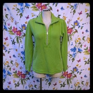 Tommy Bahama pullover sweatshirt lime green S